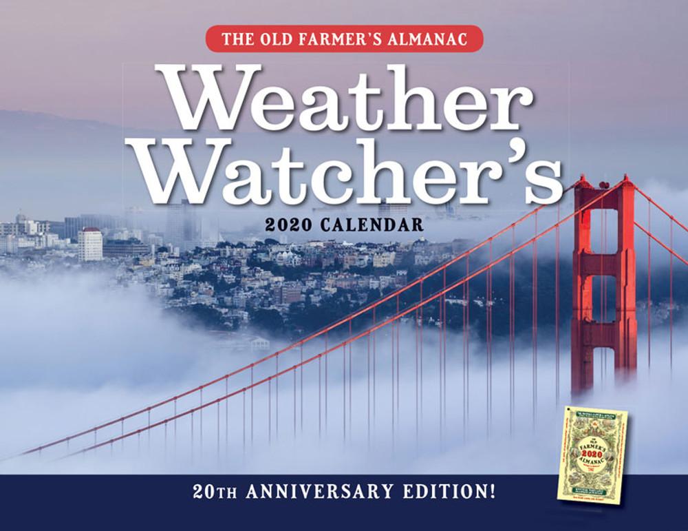 2020 Weather Calendar