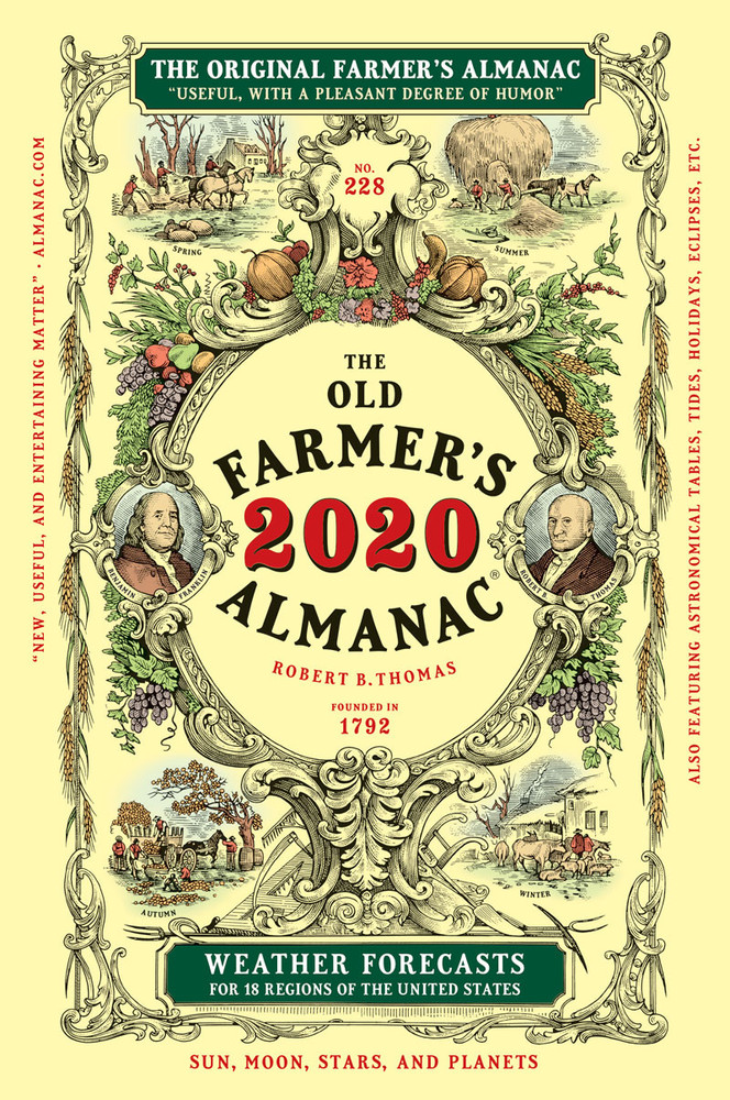 Farmer\\'S Almanac 2020 Best Days 2020 Old Farmer's Almanac | Buy Here