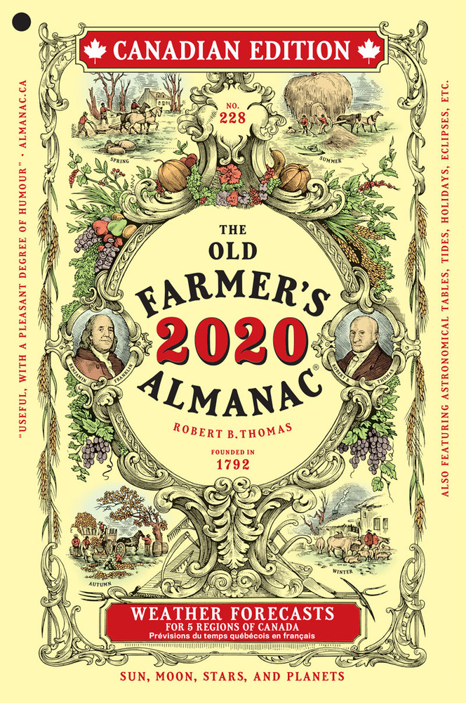 The 2020 Old Farmer's Almanac - Canadian Edition
