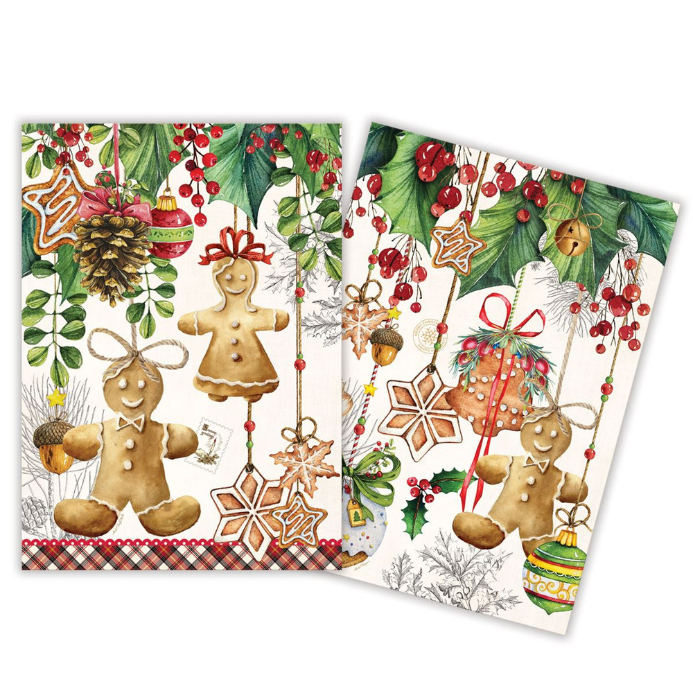 Holiday Treats Kitchen Towels - Set of 2