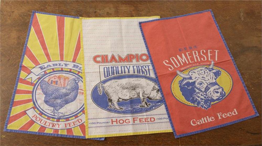 Tea Towel Set - Feed Sack