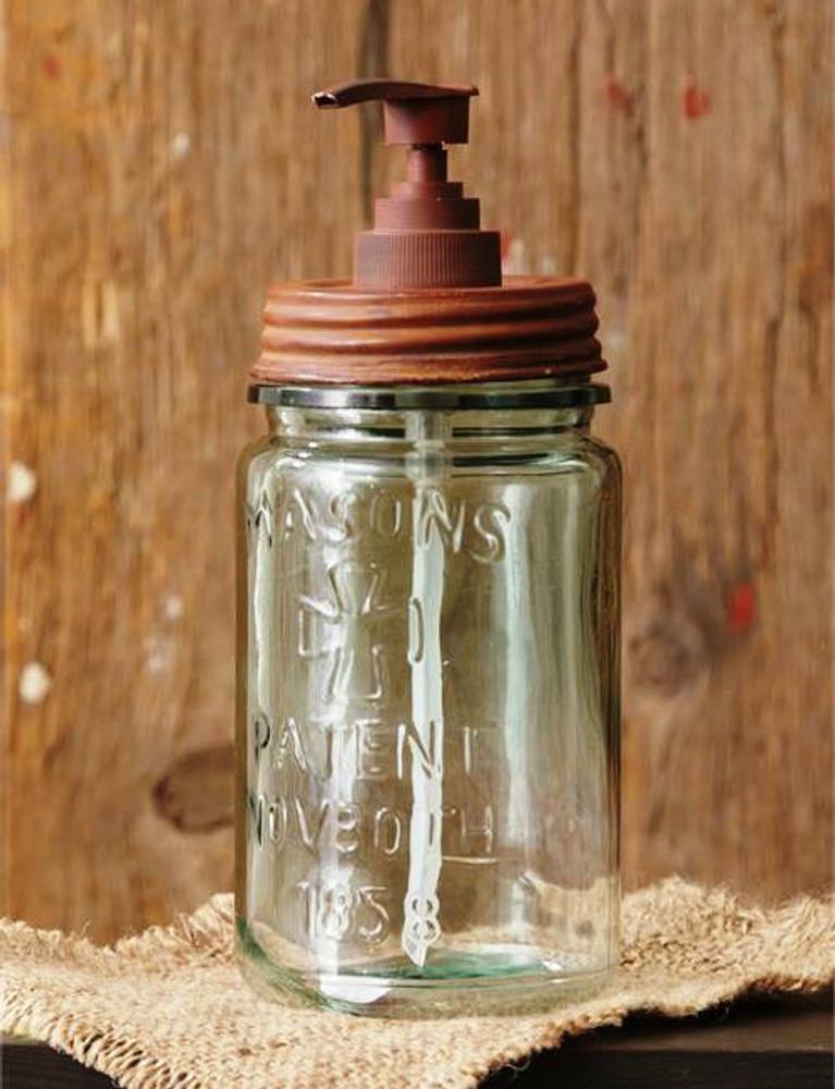 Canning Jar with Liquid Soap Pump