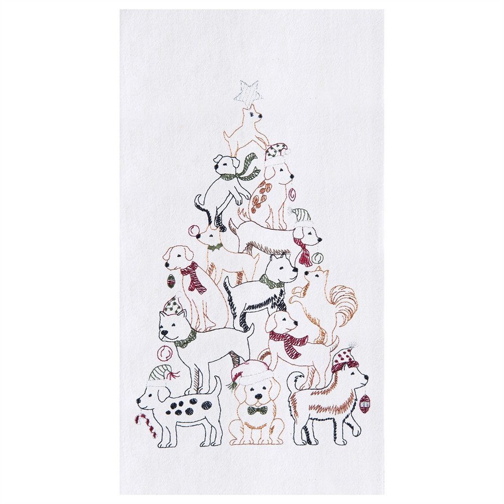 Puppy Tree Towel