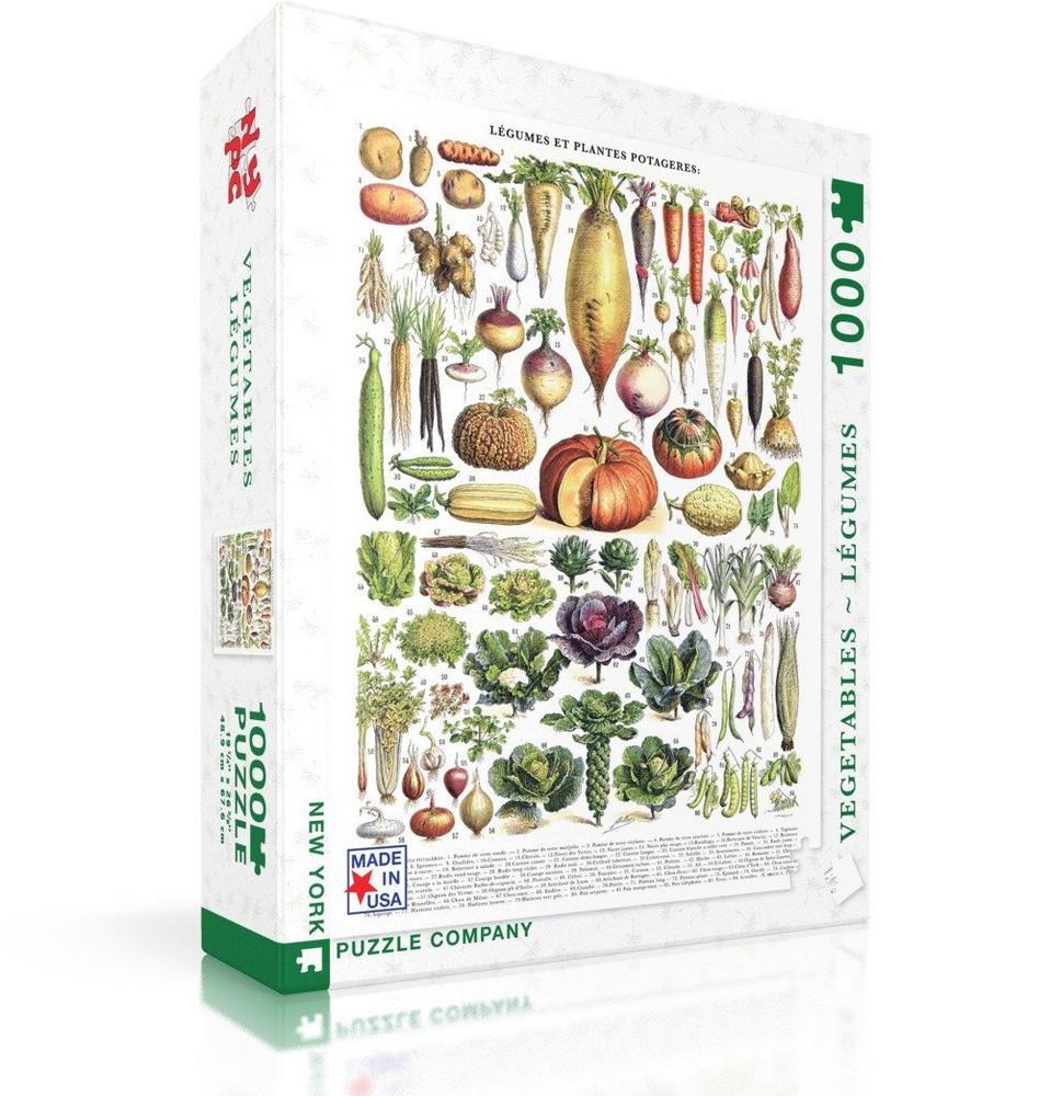 Vegetables ~ Légumes Jigsaw Puzzle 1000 Piece