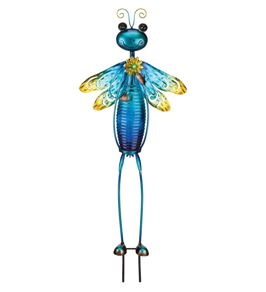 Bottle Bug Solar Stake - Dragonfly