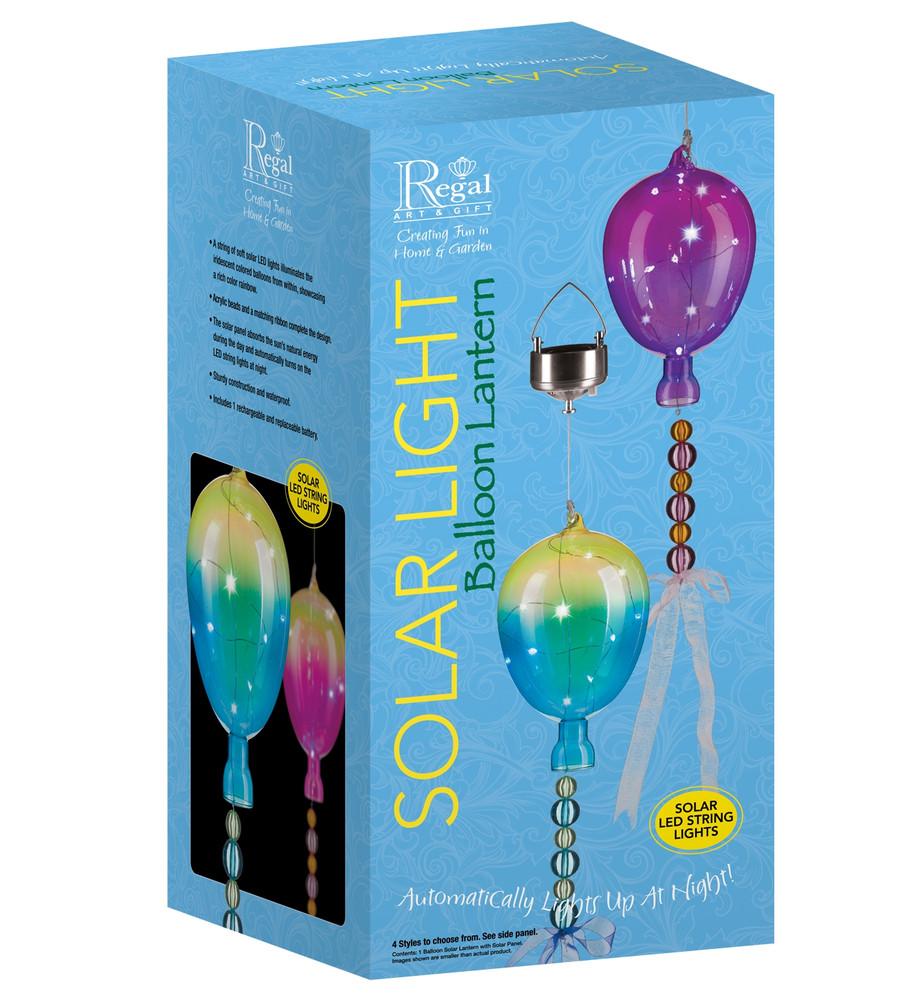 Balloon Solar Lantern - Magenta