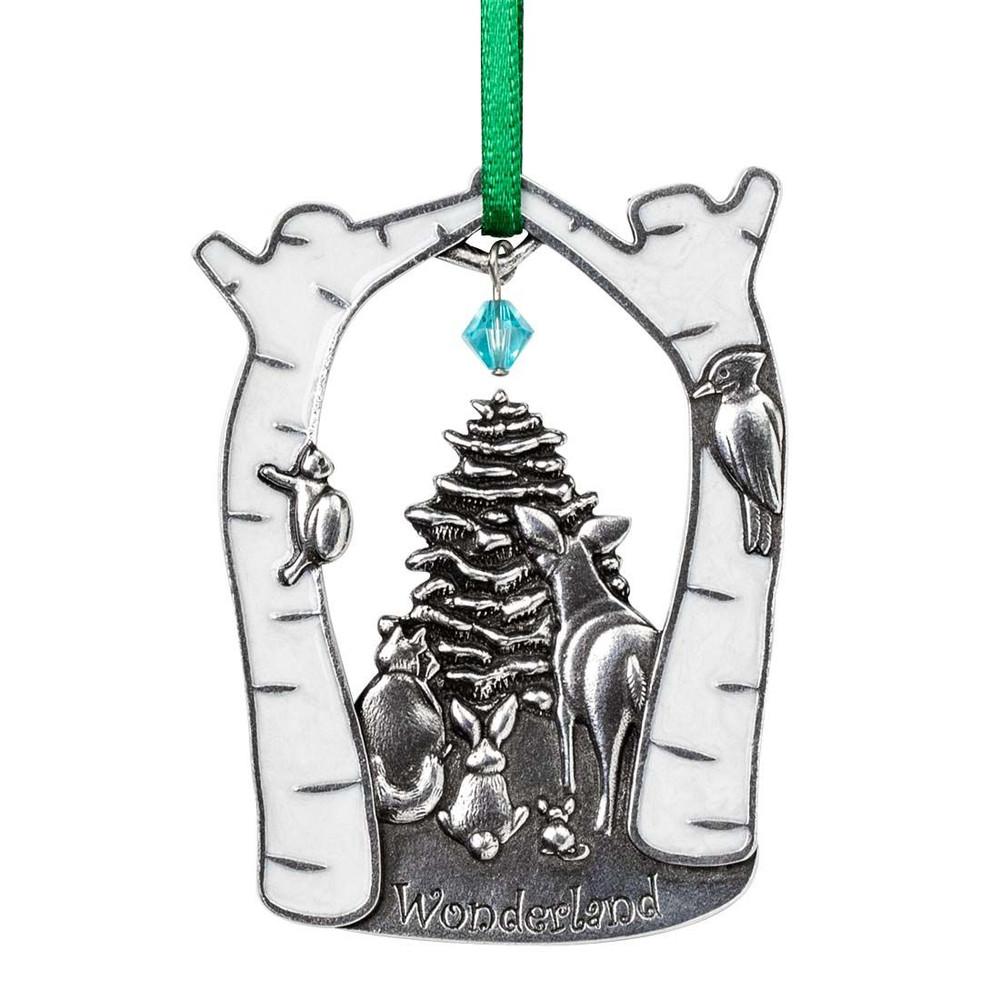Wonderland Pewter Annual Ornament