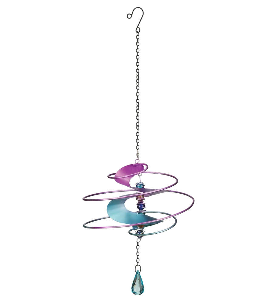 Fantasia Hanging Wind Spinner - Pink