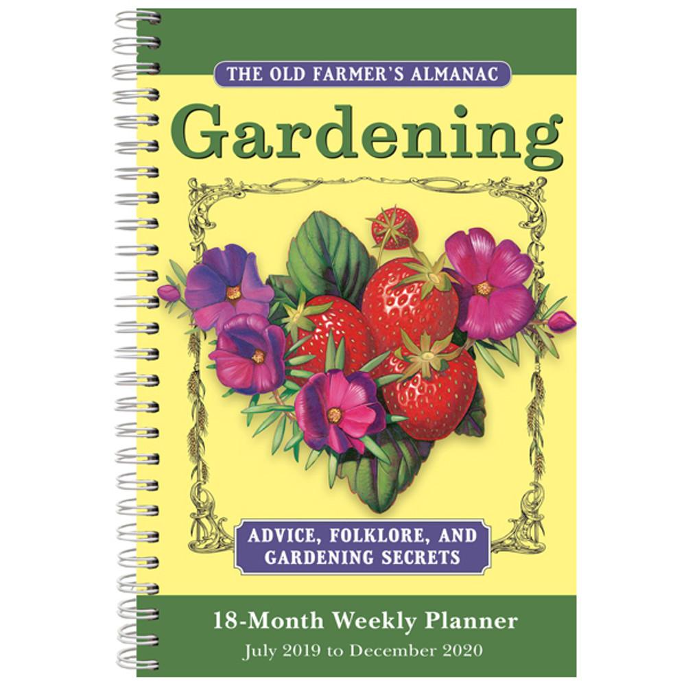 The Old Farmer's Almanac Gardening 2020 Weekly Planner