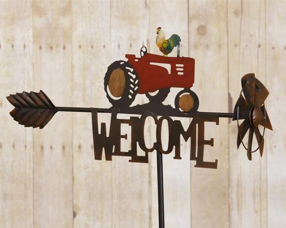 Tractor Welcome Stake