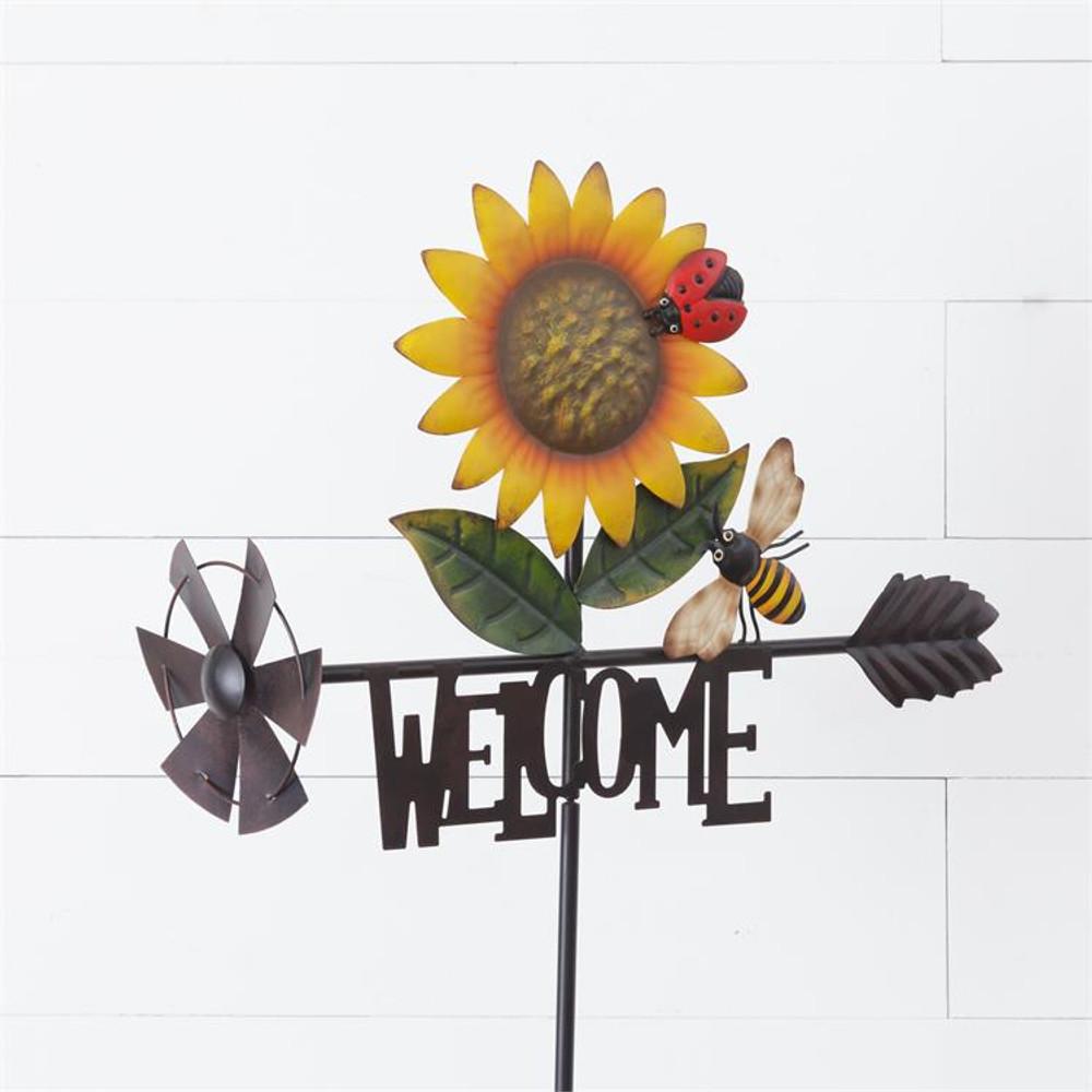 Sunflower Welcome Stake