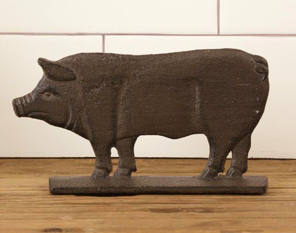 Iron Pig Shelf Sitter