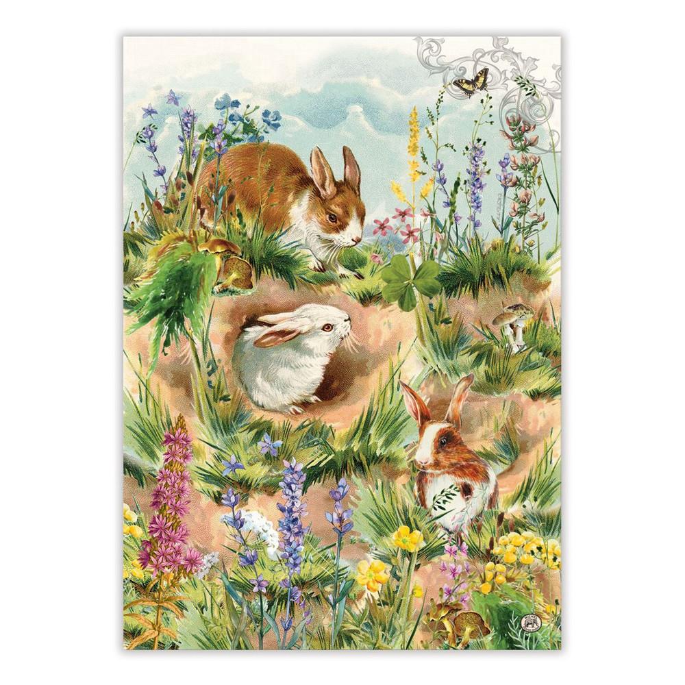 Bunny Hollow Kitchen Towel
