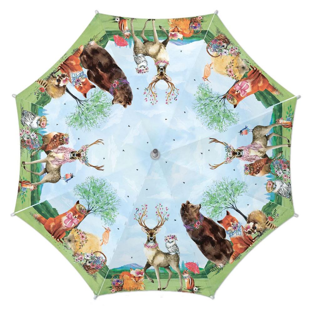 Garden Party Travel Umbrella