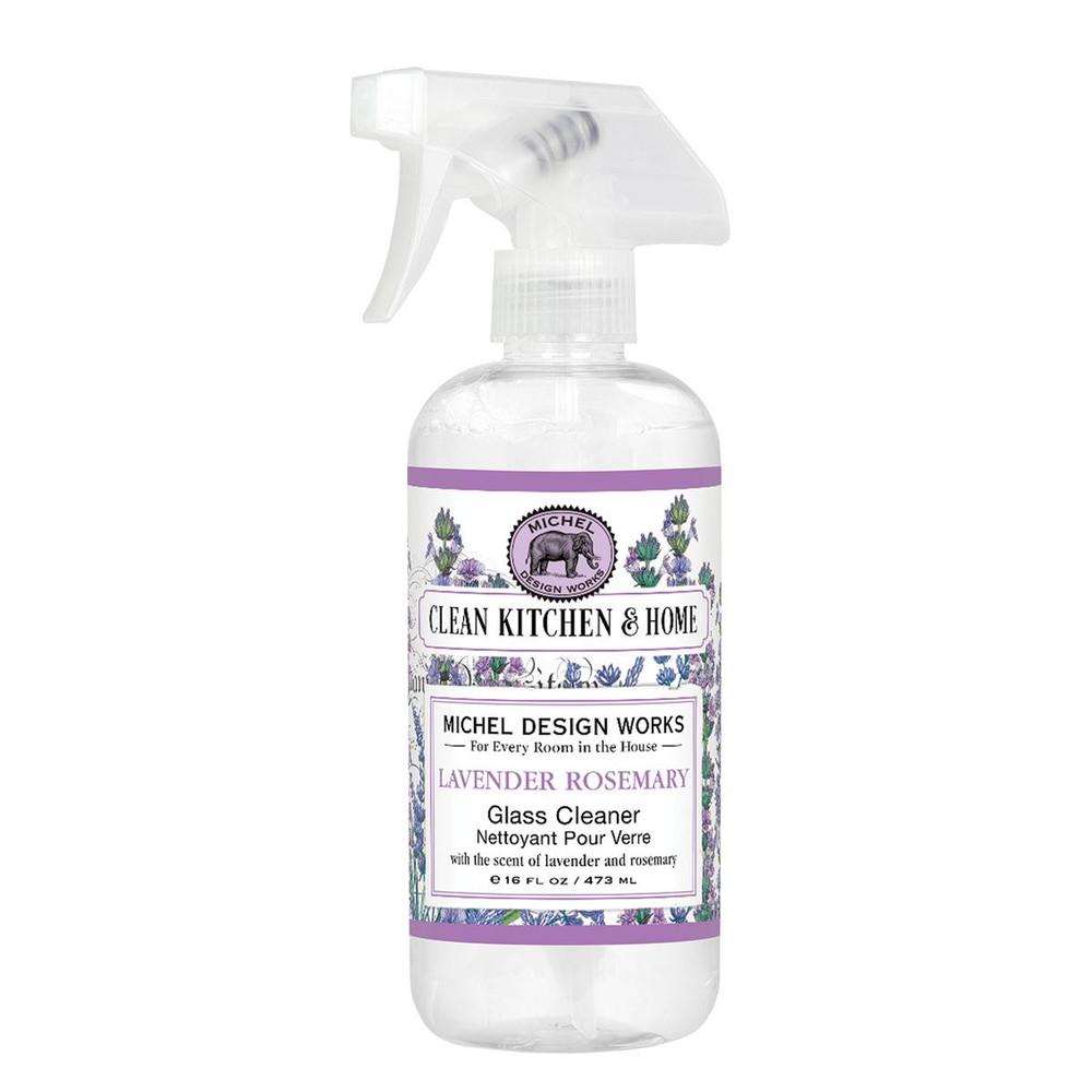 Lavender Rosemary Glass Cleaner