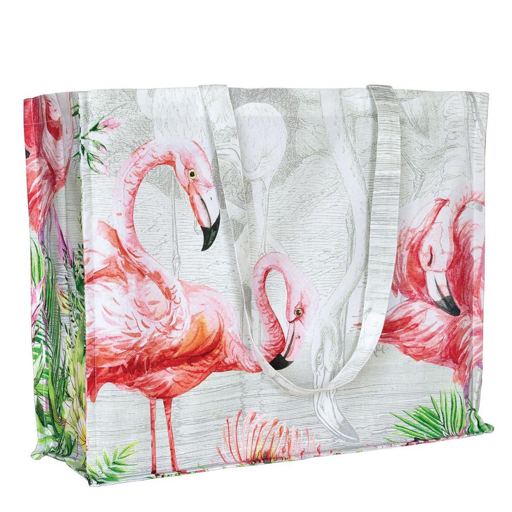 Flamingo Cotton Tote Bag