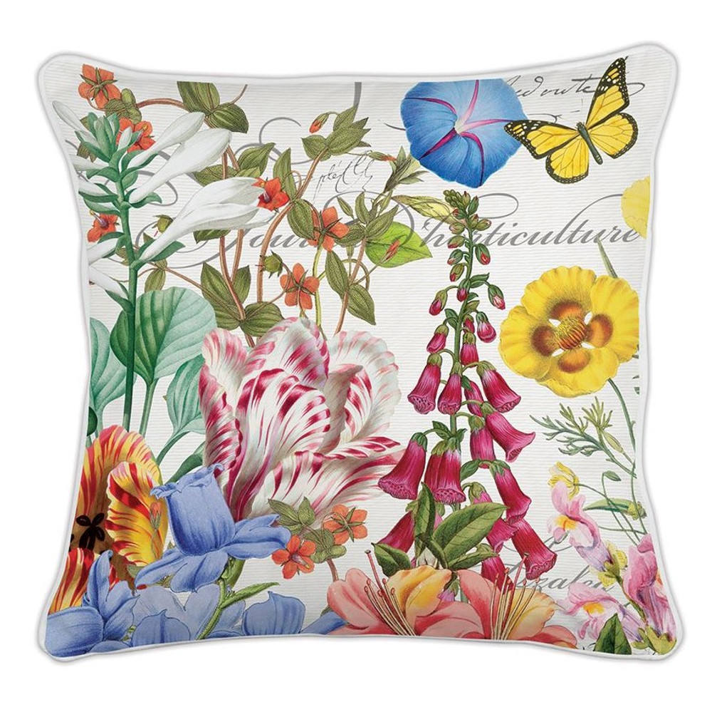 Summer Days Square Pillow