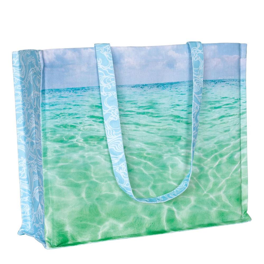 Beach Cotton Tote Bag