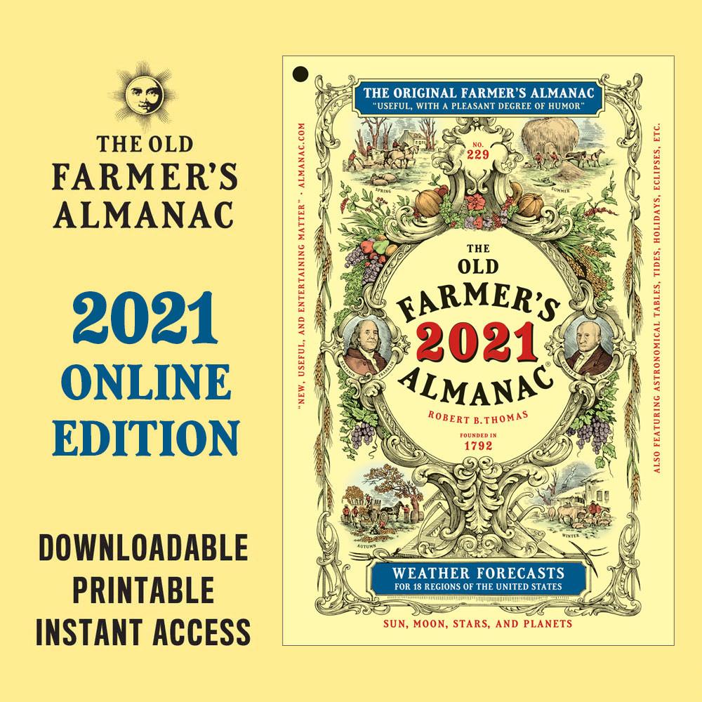 Online Edition - 2021  - The Old Farmer's Almanac