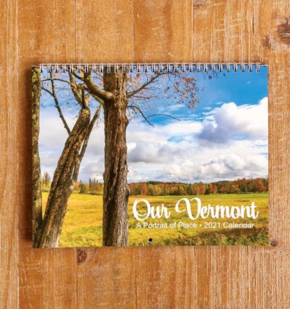 Our Vermont 2021 Calendar: A Portrait Of Place