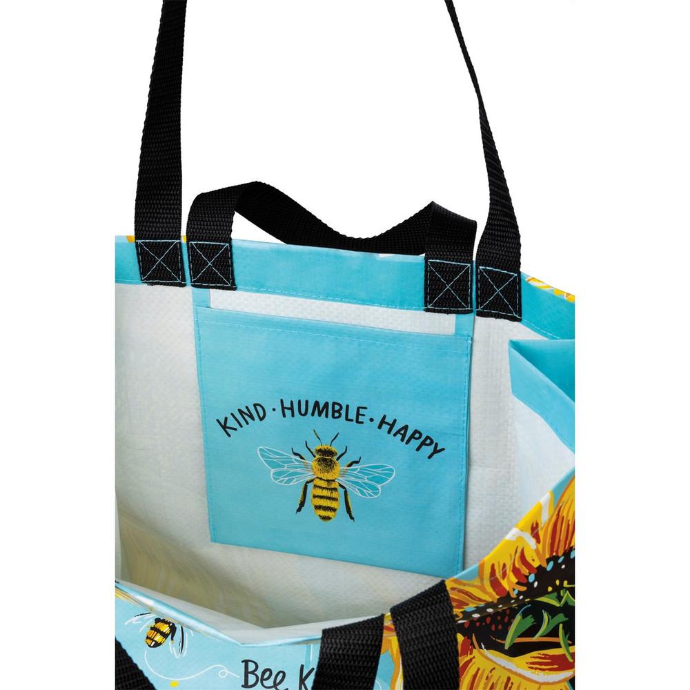 Market Tote - Bee Kind Bee Humble Bee Happy