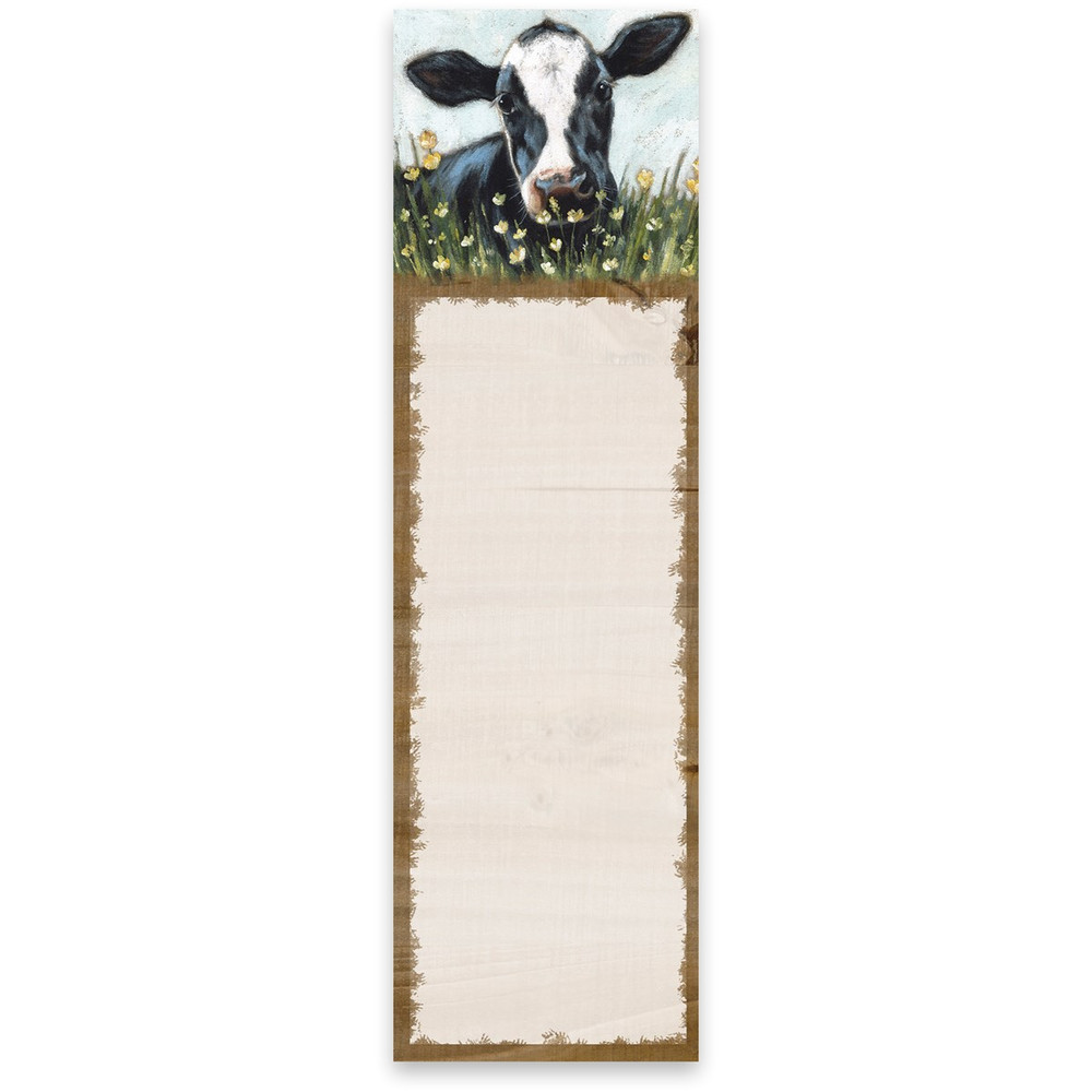 List Notepad - Cow