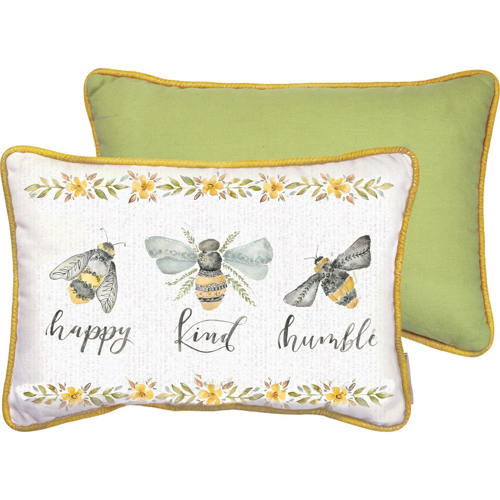 Pillow - Happy Kind Humble