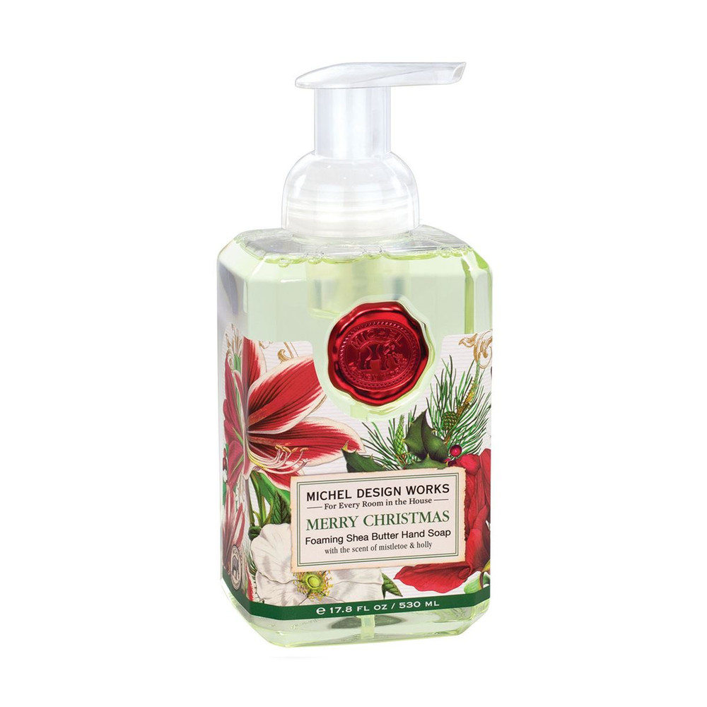 Merry Christmas Foaming Hand Soap