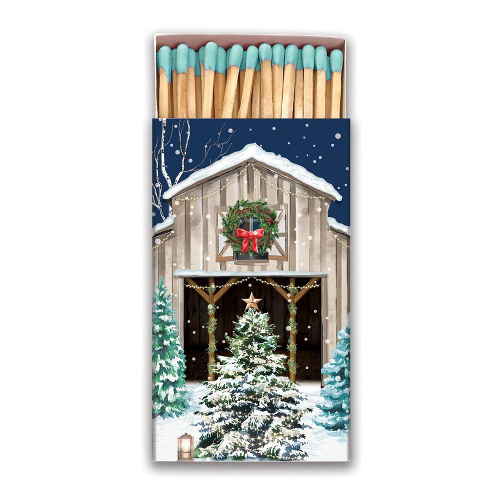 Christmas Snow Matchbox