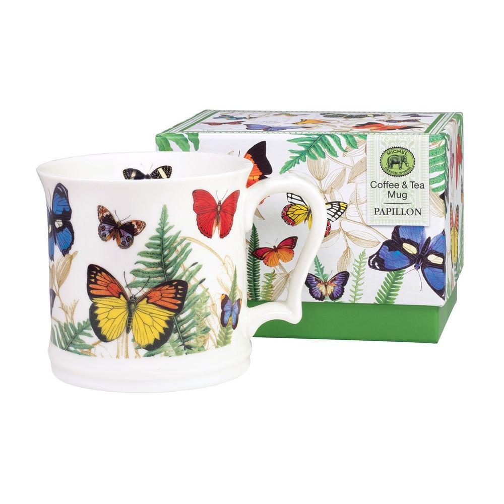 Coffee & Tea Mug - Papillon