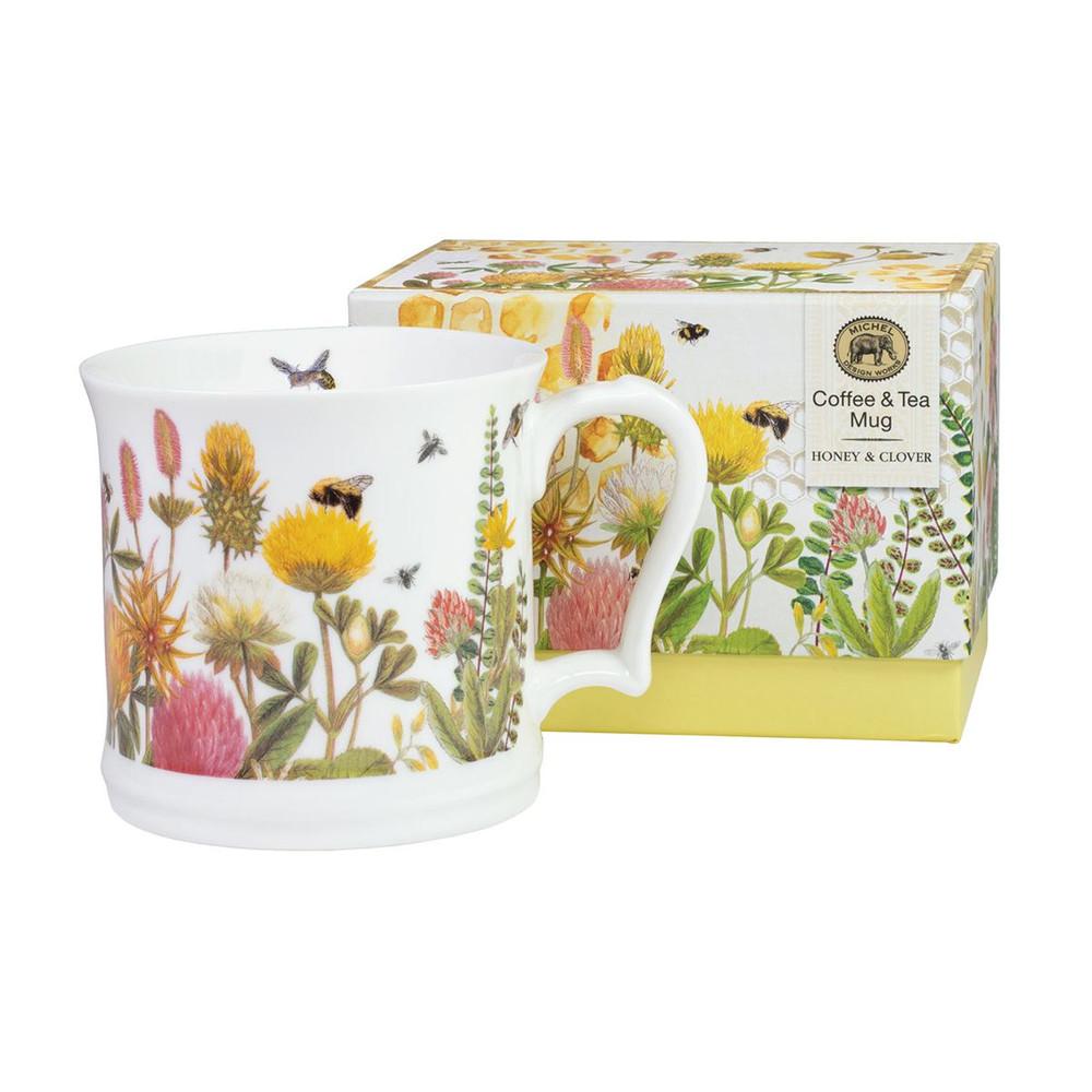 Coffee & Tea Mug - Honey & Clover