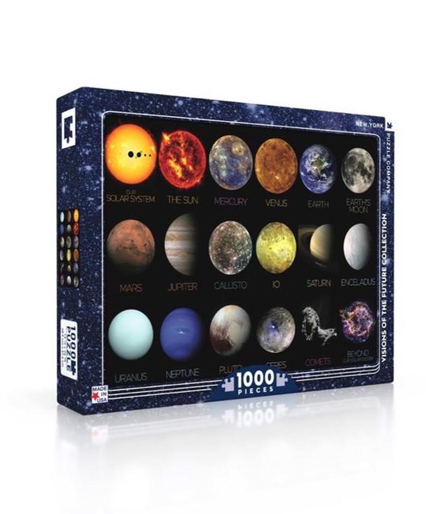 Solar System Jigsaw Puzzle 1000 Piece
