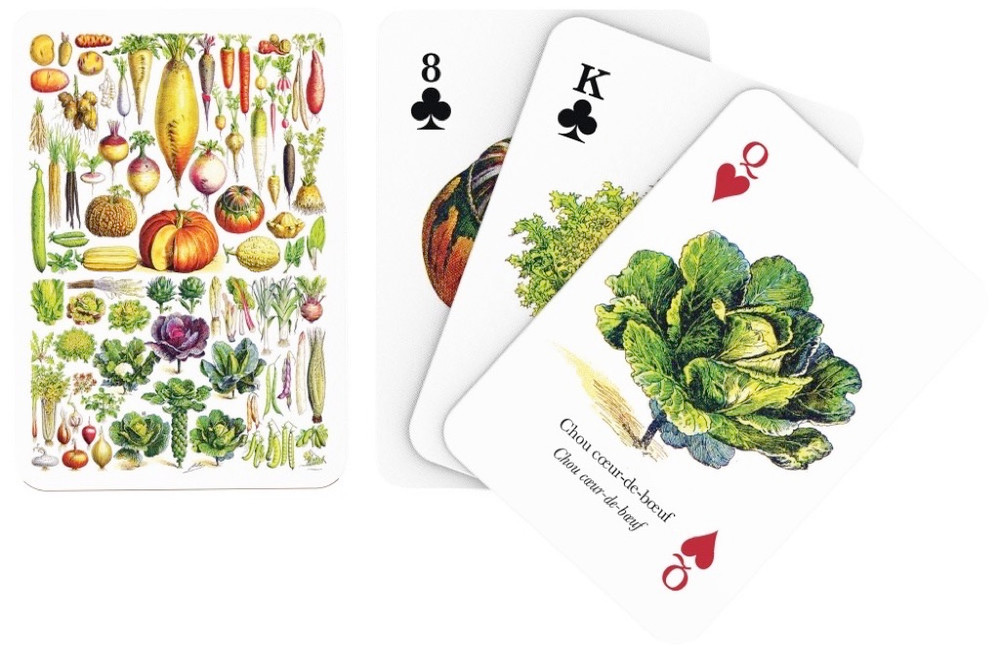 Vegetable Playing Cards