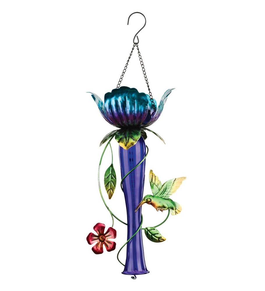 Tulip Chaser Solar Lantern - Purple