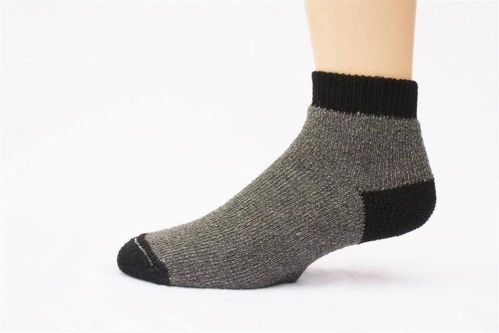Alpaca Fleece SlipperBootie Socks
