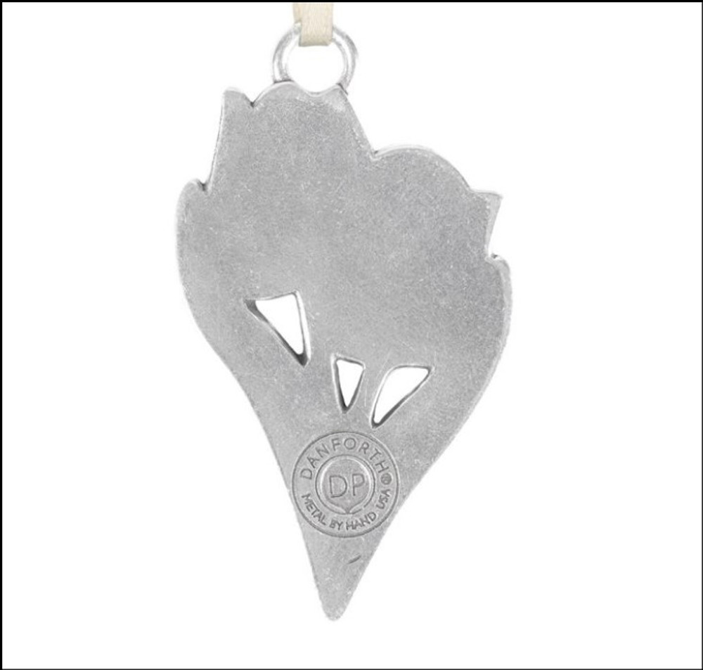 Tulips Pewter Ornament