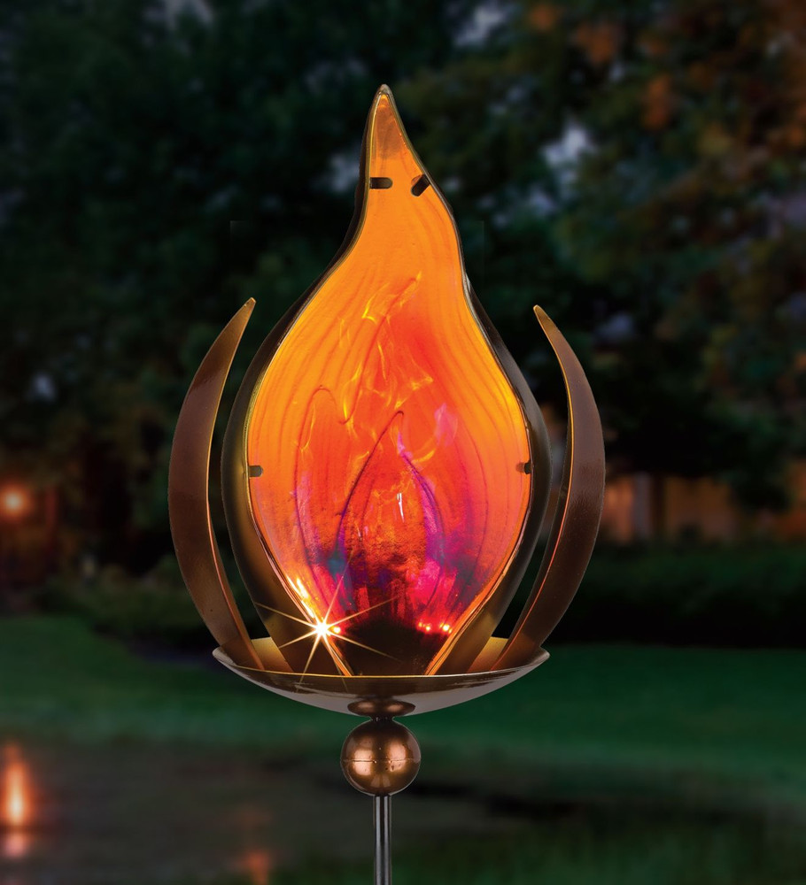 Blaze Solar Stake - Bronze
