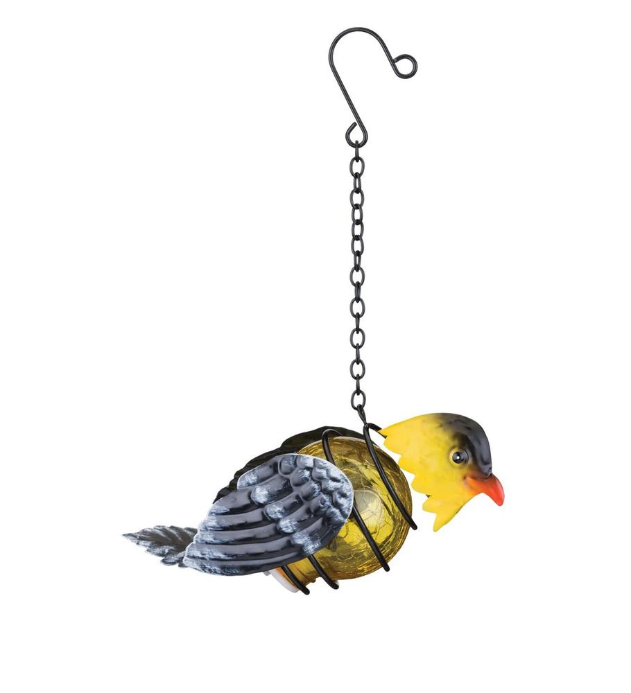 Bird Solar Lantern - Goldfinch