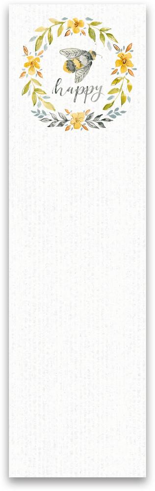 List Notepad - Happy
