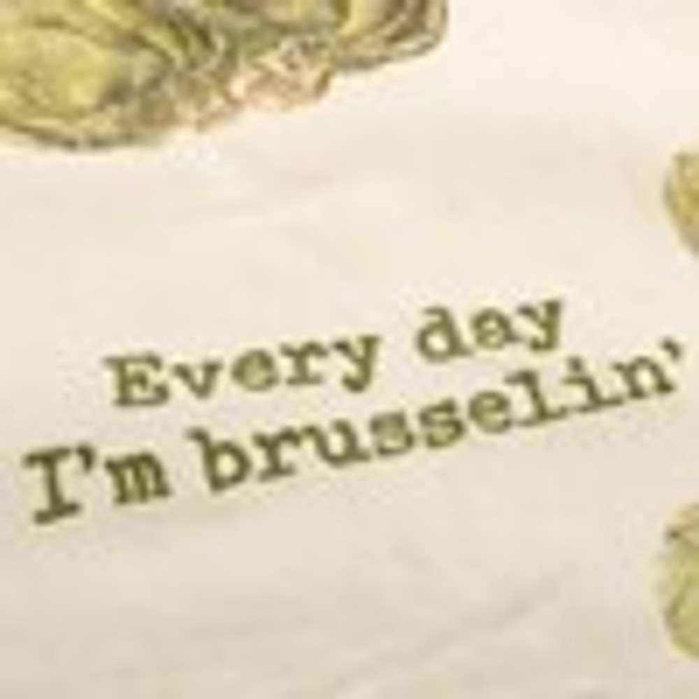 Dish Towel I'm Brusselin