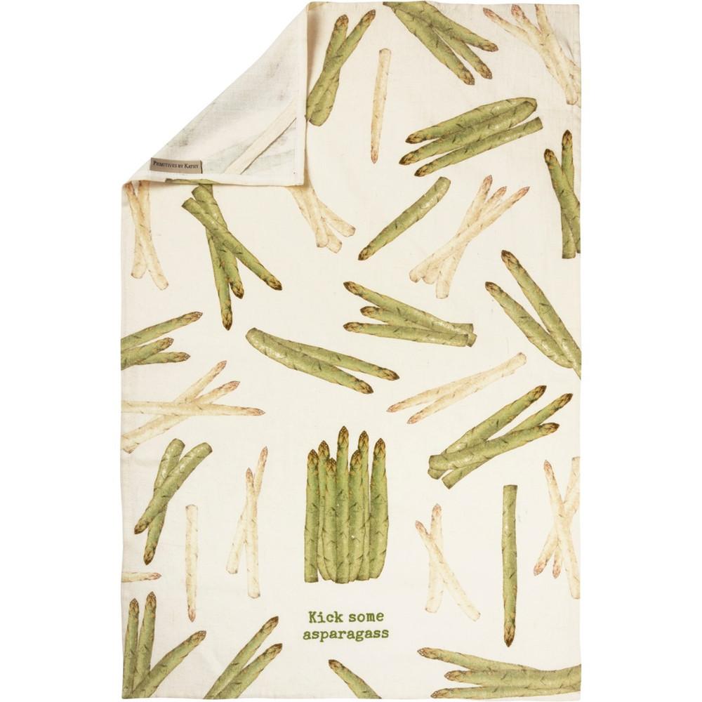 Dish Towel Asparagus