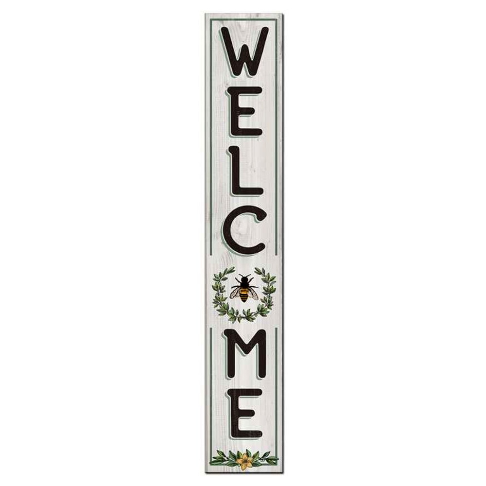 4 Foot Porch Board - Welcome Bee