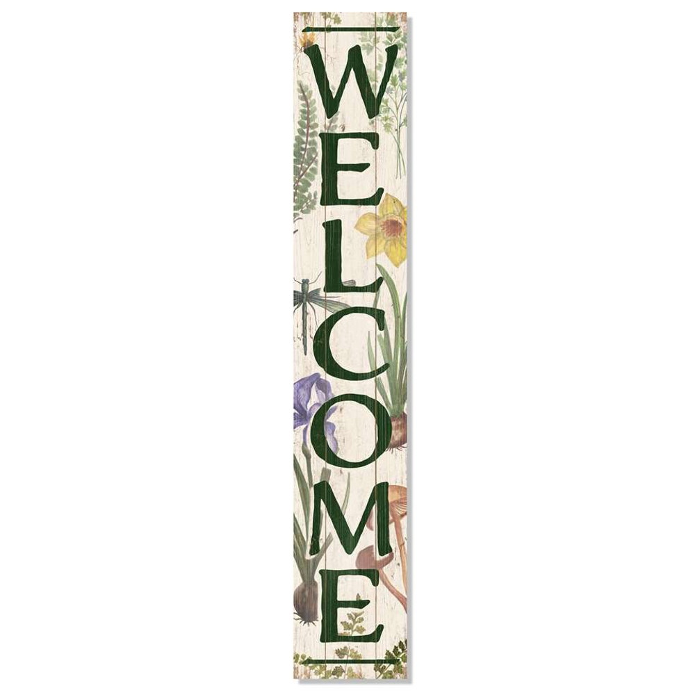 4 Foot Porch Board - Welcome Botanical