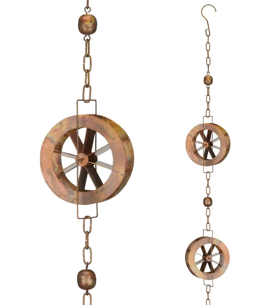 Rain Chain - Water Wheel