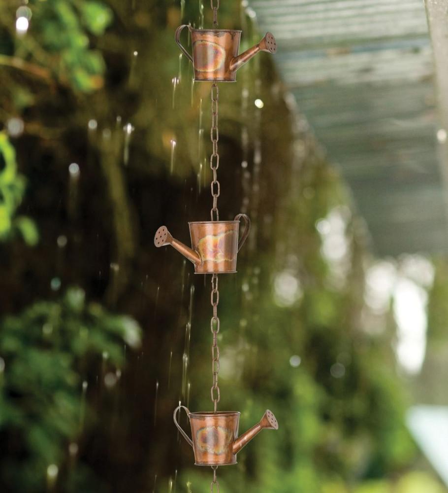 Rain Chain - Copper Watering Can