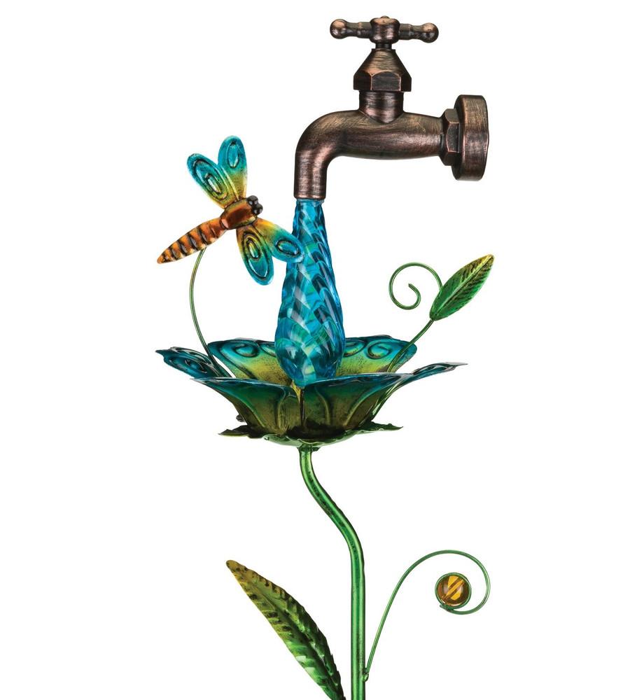 Waterdrop Solar Stake - Dragonfly
