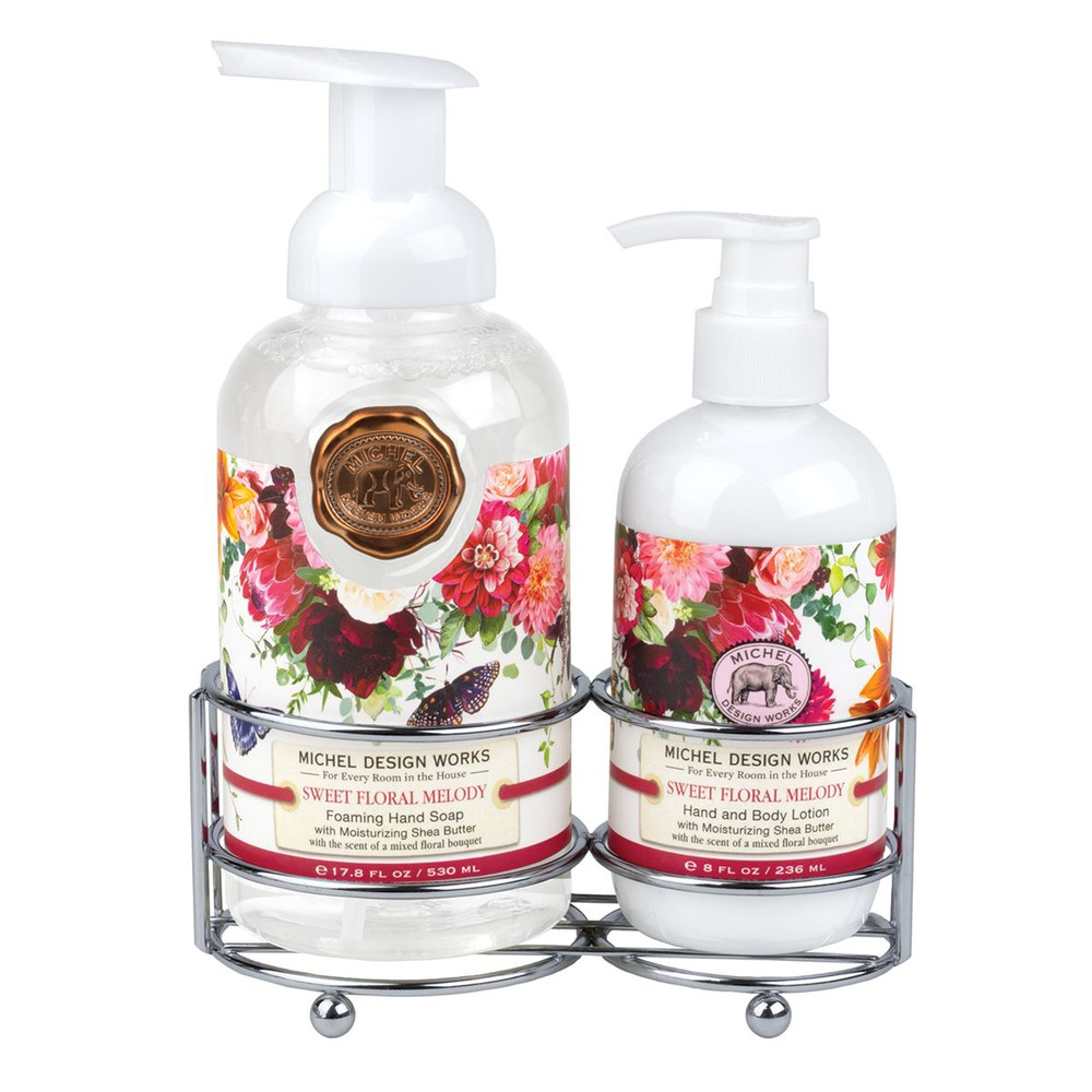 Sweet Floral Melody Handcare Caddy