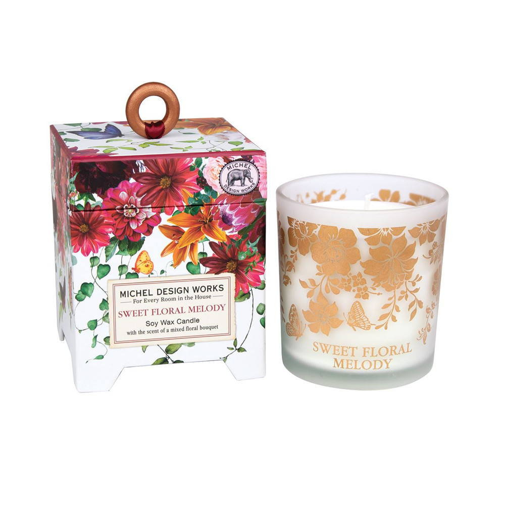 Sweet Floral Melody Soy Wax Candle