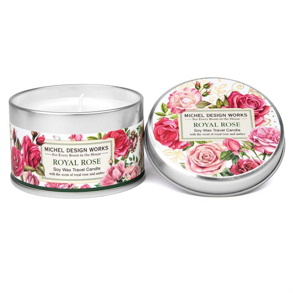 Royal Rose Travel Candle