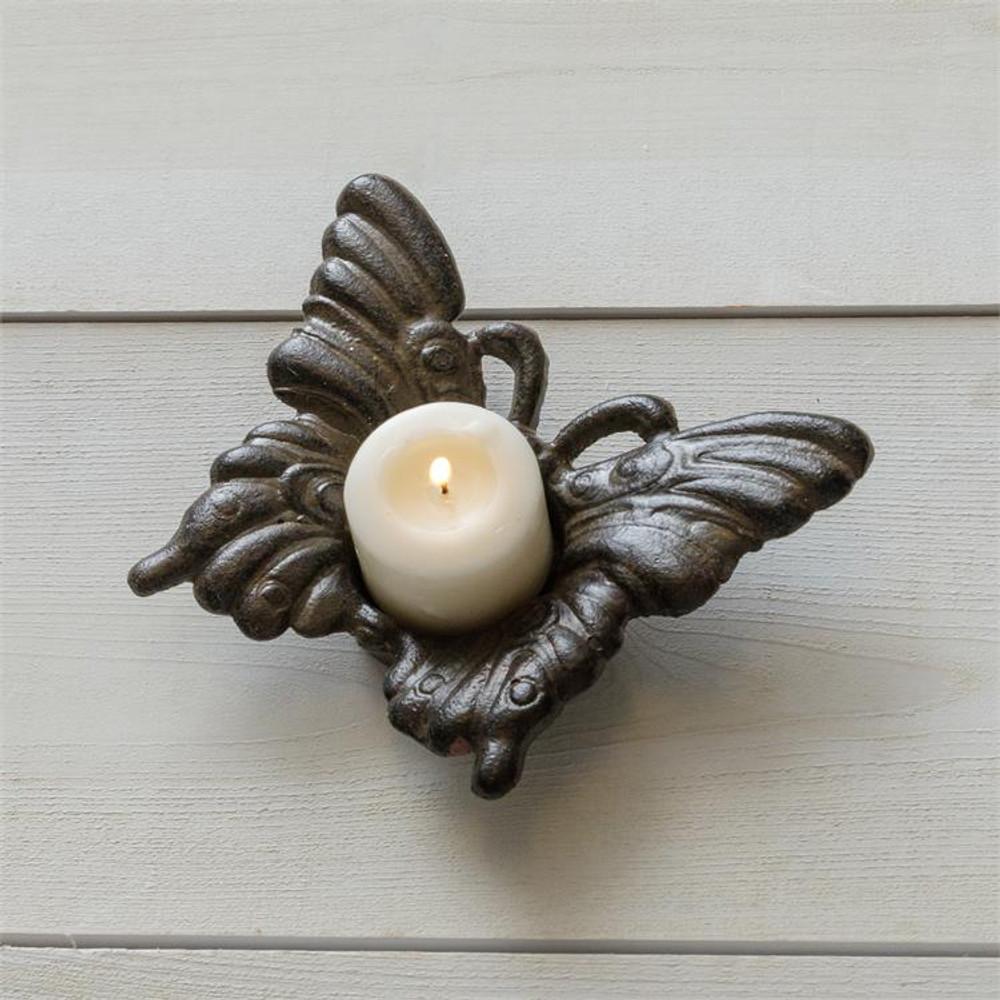 Tea Light Holder - Butterfly